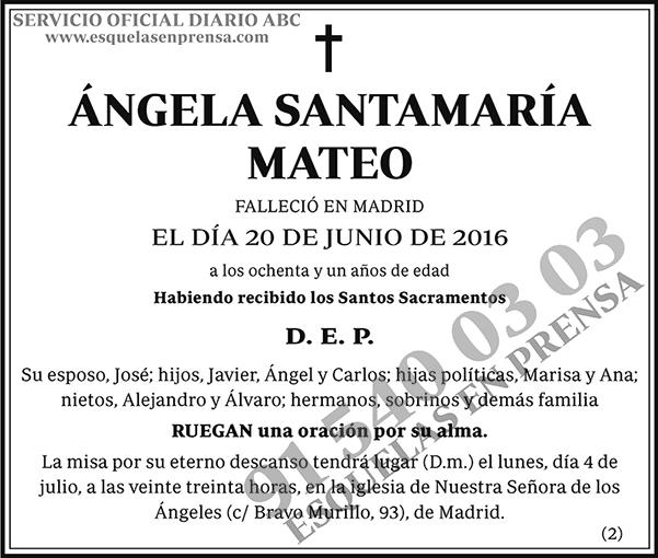 Ángela Santamaría Mateo